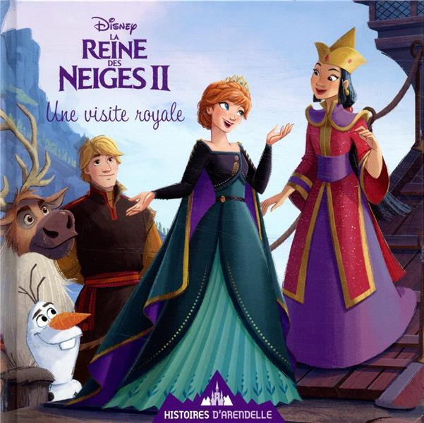 LA REINE DES NEIGES 2 - HISTOIRES D'ARENDELLE - VOL. 5 - UNE VISITE ROYALE - DISNEY DISNEY HACHETTE