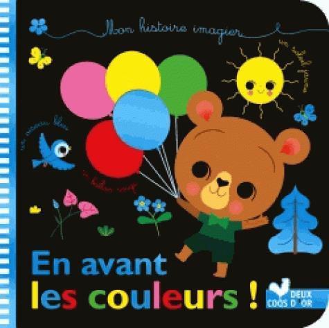 MES HISTOIRES IMAGIERS  -  DE TOUTES LES COULEURS BRUNELLIERE, LUCIE Deux coqs d'or