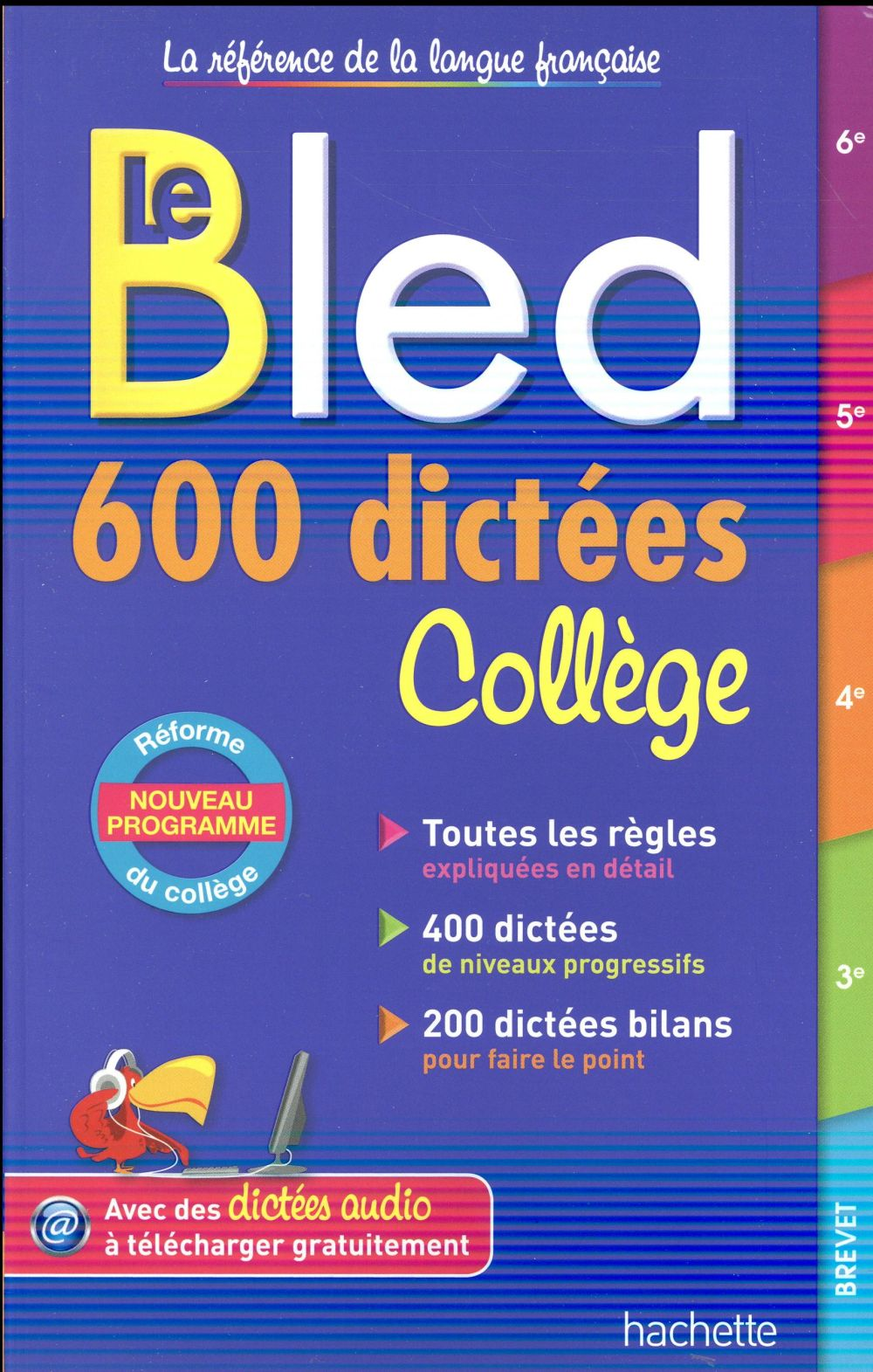 BLED 600 DICTEES COLLEGE Lisle Isabelle de Hachette Education