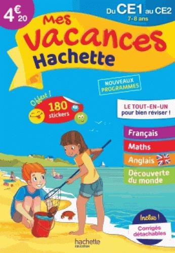 - MES VACANCES HACHETTE CE1CE2