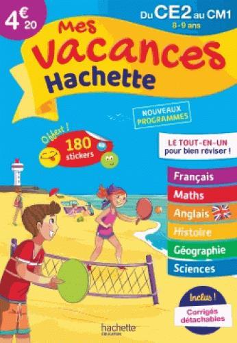 - MES VACANCES HACHETTE CE2CM1