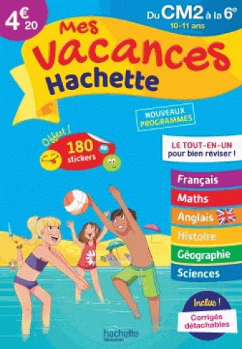 - MES VACANCES HACHETTE CM26E