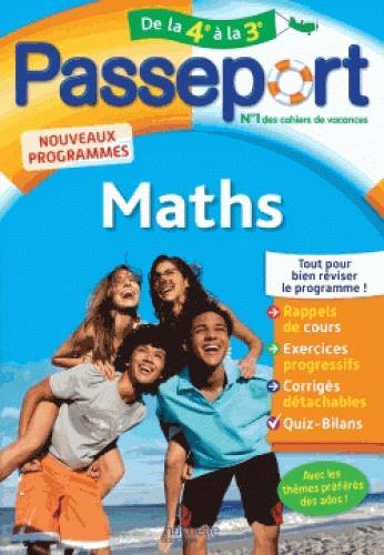 PASSEPORT  -  MATHS  -  DE LA 4E A LA 3E SEMAT MIREILLE Hachette Education