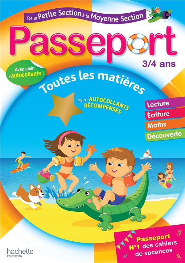 PASSEPORT CAHIER DE VACANCES 2019 DE LA PS A LA MS - 34 ANS POURE/EXBRAYAT HACHETTE