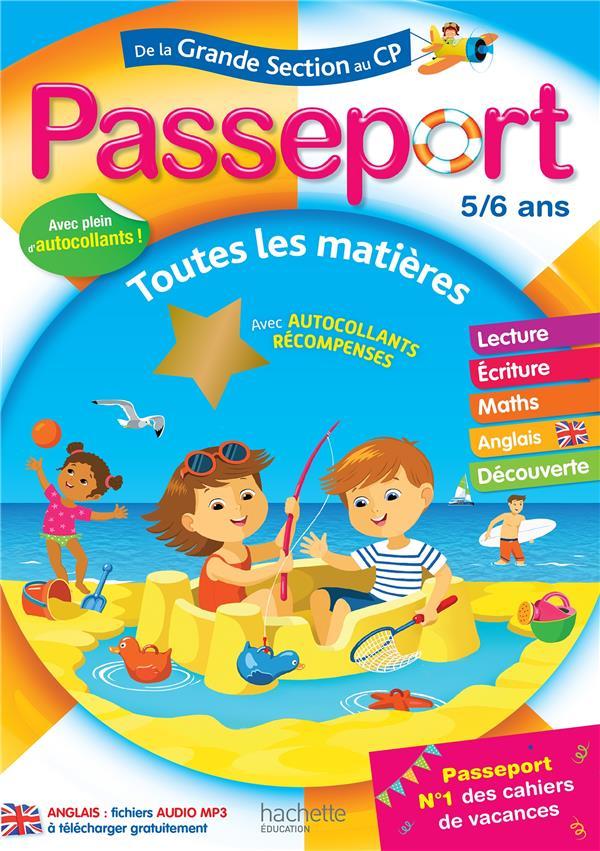 PASSEPORT  -  DE LA GS AU CP EXBRAYAT/BLANDINO HACHETTE