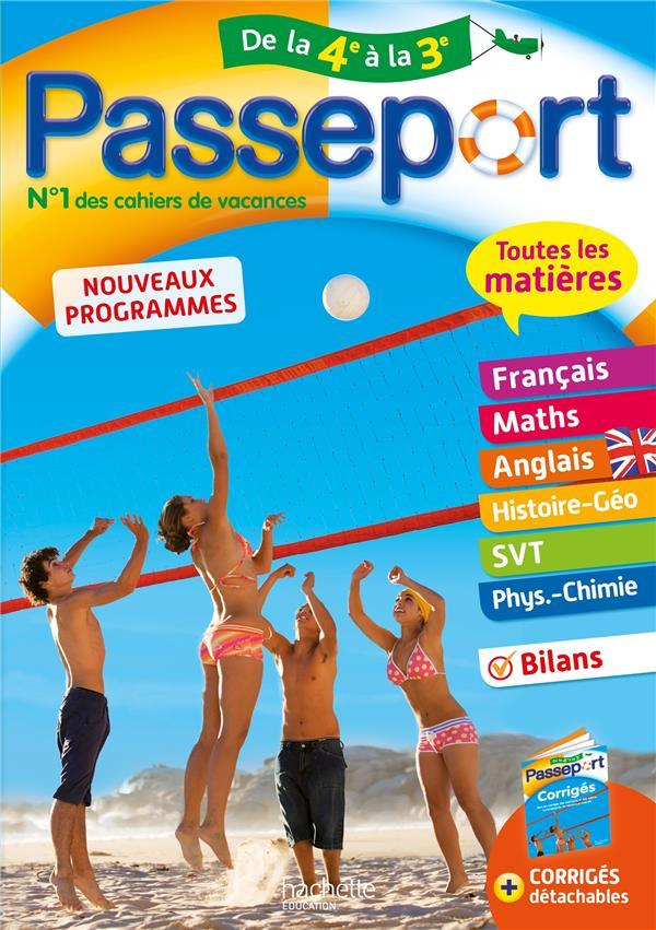 PASSEPORT  -  TOUTES LES MATIERES  -  DE LA 4E VERS LA 3E BONNET/OTTEVAERE NC