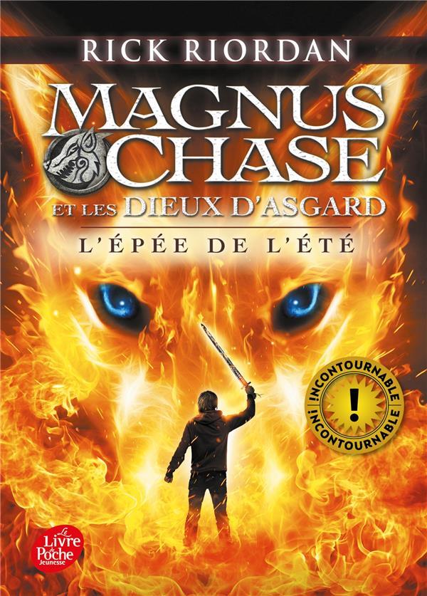 MAGNUS CHASE ET LES DIEUX D'ASGARD  -  L'EPEE DE L'ETE RIORDAN RICK HACHETTE
