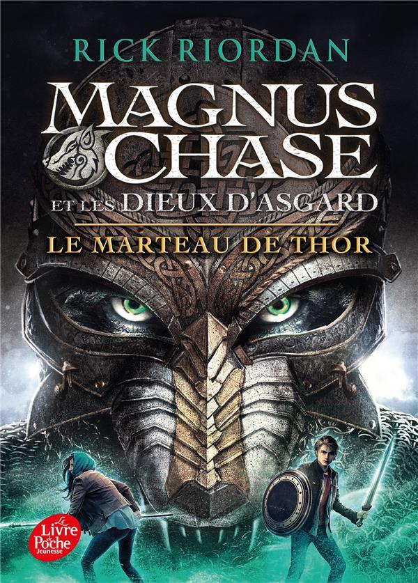 MAGNUS CHASE ET LES DIEUX D'ASGARD T.2  -  LE MARTEAU DE THOR RIORDAN RICK NC