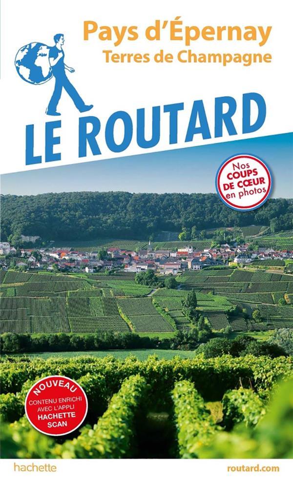 GUIDE DU ROUTARD  -  EPERNAY  -  MONTAGNE DE REIMS COLLECTF HACHETTE