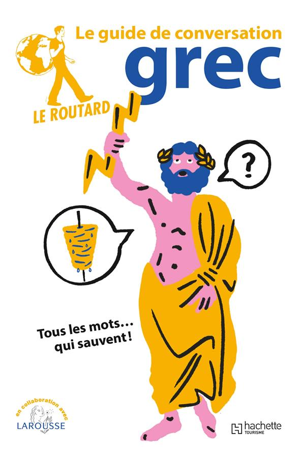LE GUIDE DE CONVERSATION ROUTARD  -  GREC