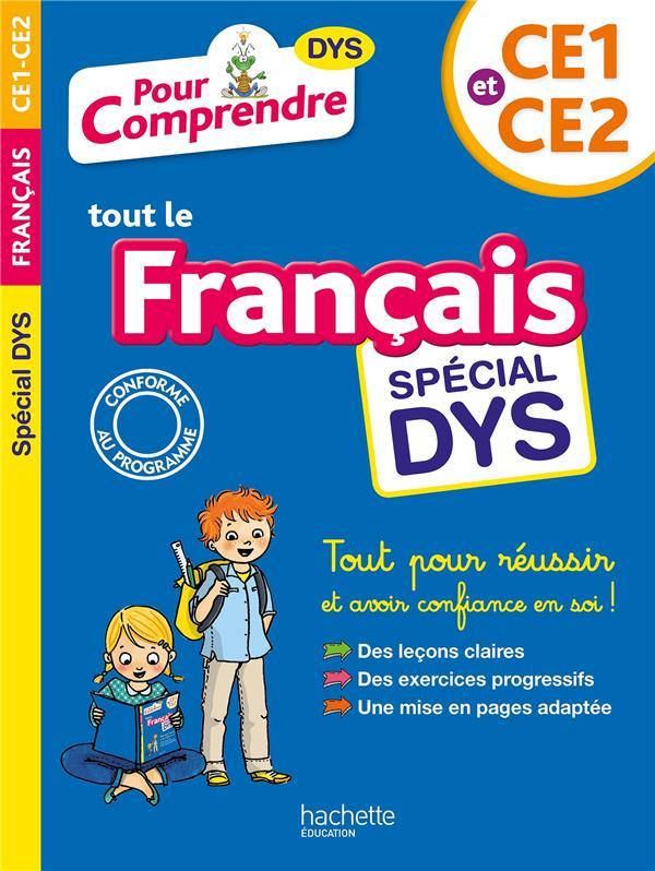 POUR COMPRENDRE TOUT LE FRANCAIS  -  CE1-CE2 DYSLEXIE BREMONT/VIRON HACHETTE