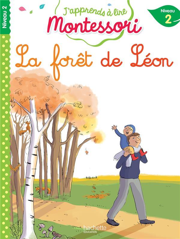 - J'APPRENDS A LIRE MONTESSORI  -  LA FORET DE LEON  -  NIVEAU 2