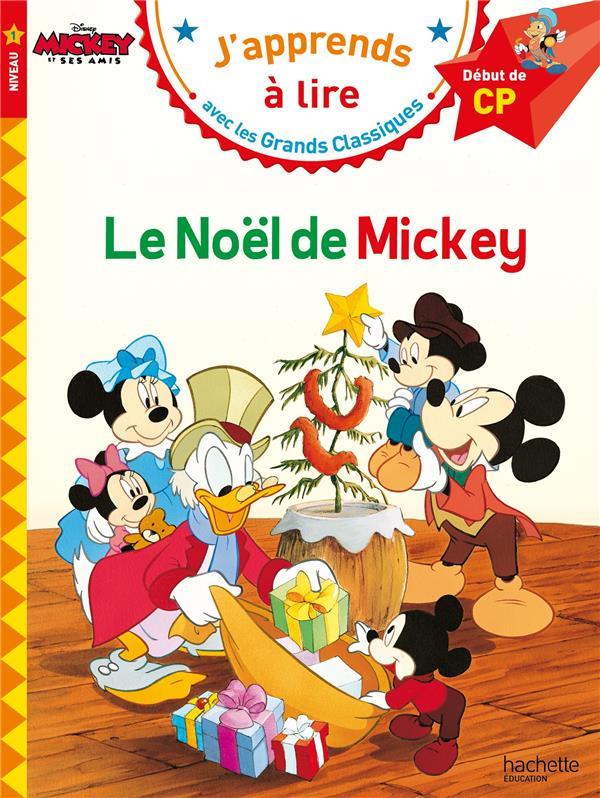 LE NOEL DE MICKEY CP NIVEAU 1  HACHETTE