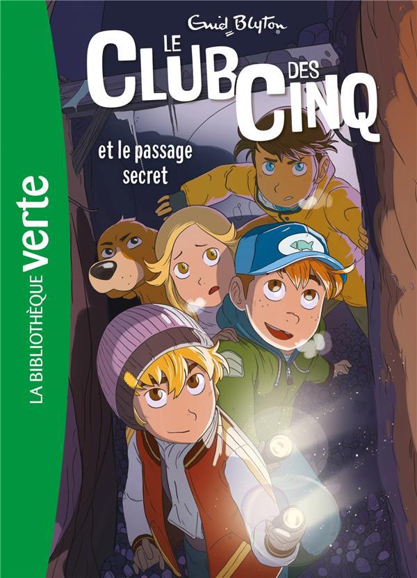 LE CLUB DES CINQ T.2  -  LE CLUB DES CINQ ET LE PASSAGE SECRET  HACHETTE