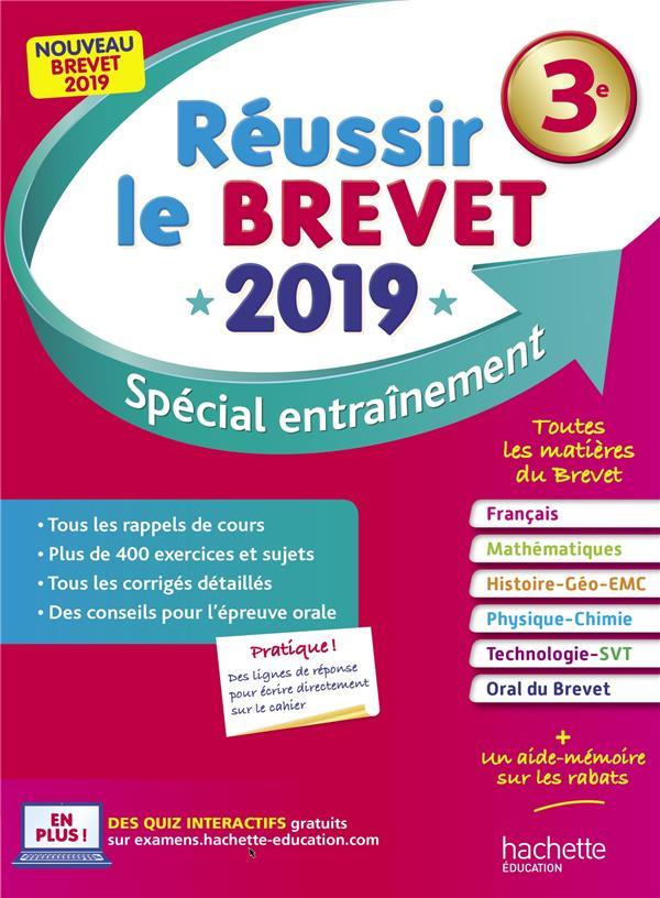 REUSSIR LE BREVET : NOUVEAU BREVET 3E LISLE/ROUSSEAU HACHETTE