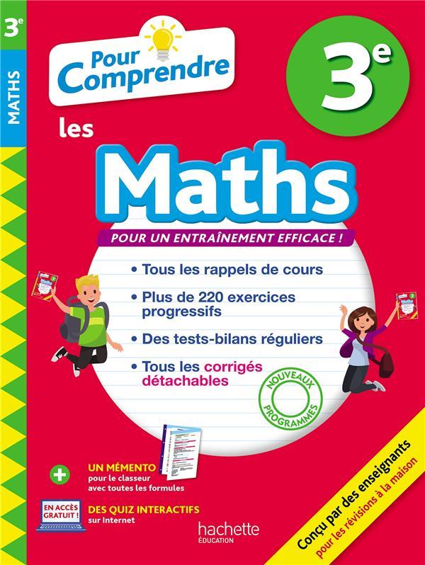 POUR COMPRENDRE MATHS 3E ROUSSEAU/CLAMART HACHETTE