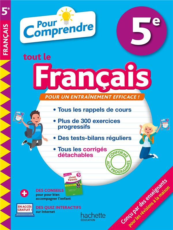 POUR COMPRENDRE TOUT LE FRANCAIS     5E