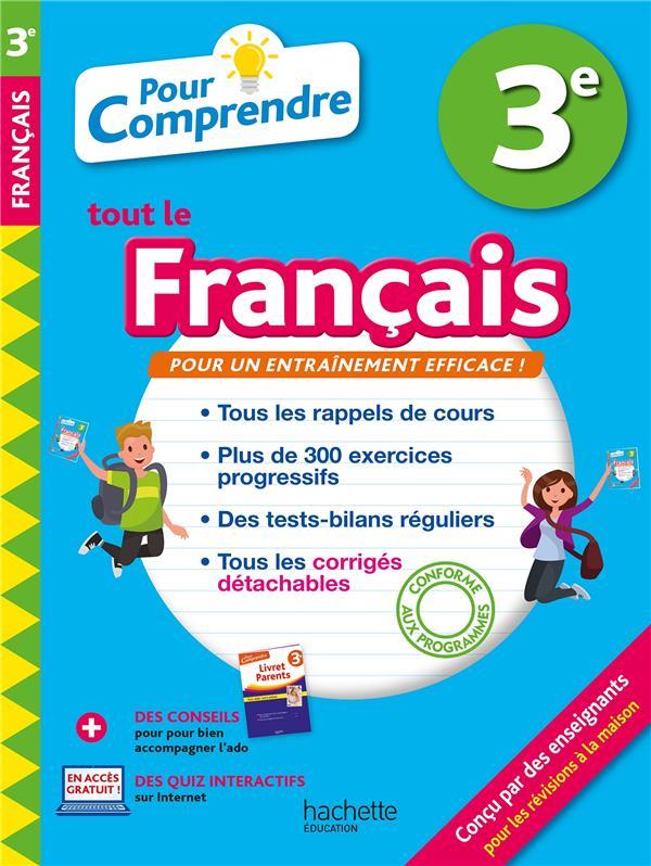 POUR COMPRENDRE TOUT LE FRANCAIS     3E