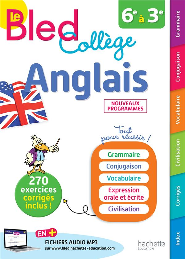 BLED ANGLAIS COLLEGE