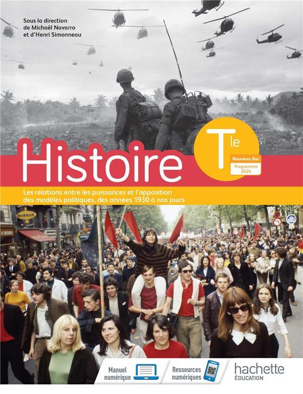 HISTOIRE TERMINALES - LIVRE ELEVE - ED. 2020 NAVARRA, MICHAEL  HACHETTE