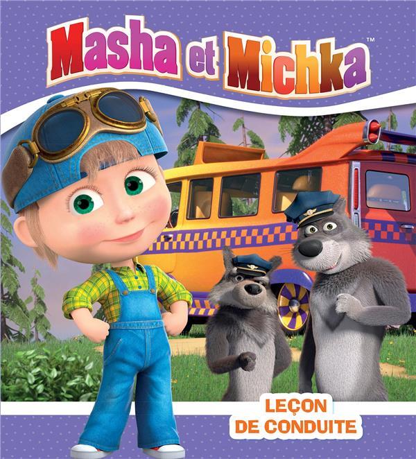 MASHA ET MICHKA  -  LECON DE CONDUITE COLLECTIF HACHETTE