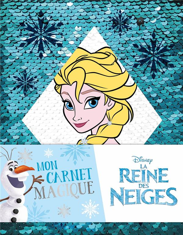 LA REINE DES NEIGES - CARNET A SEQUINS