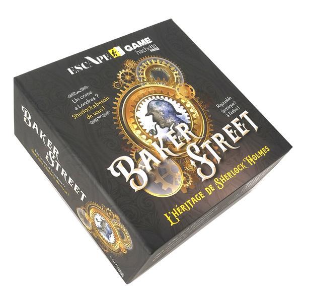 BOITE ESCAPE GAME  -  BAKER STREET  -  L'HERITAGE DE SHERLOCK HOLMES