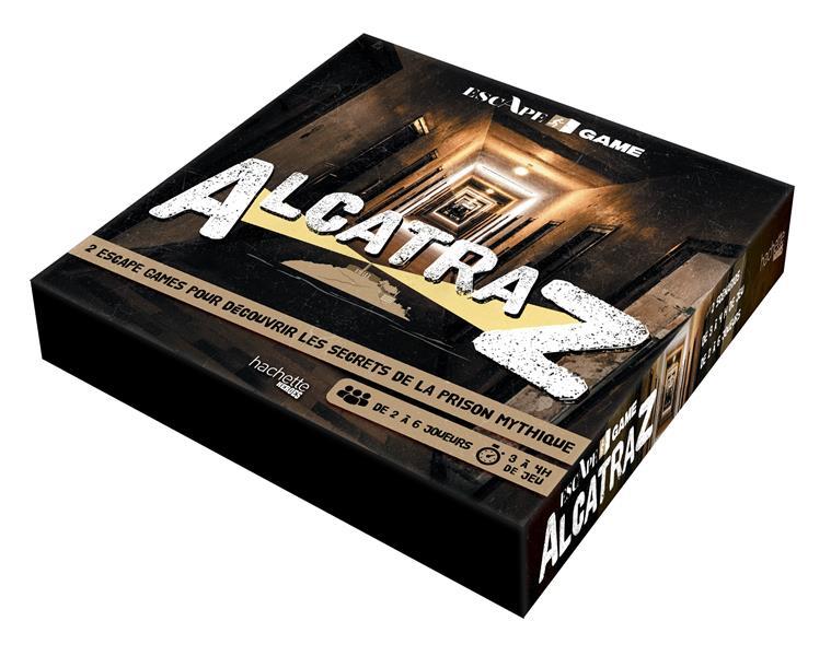 ESCAPE GAME  -  ALCATRAZ  -  2 ESCAPE GAMES POUR DECOUVRIR LES SECRETS DE LA PRISON MYTHIQUE BOUVIER FABRICE NC