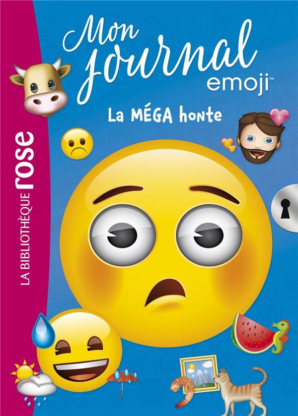 EMOJI TM MON JOURNAL - T05 - EMOJI TM MON JOURNAL 05 - LA MEGA HONTE  HACHETTE