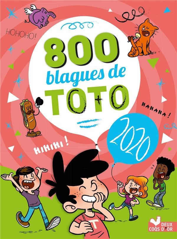 800 BLAGUES DE TOTO (EDITION 2020) XXX HACHETTE