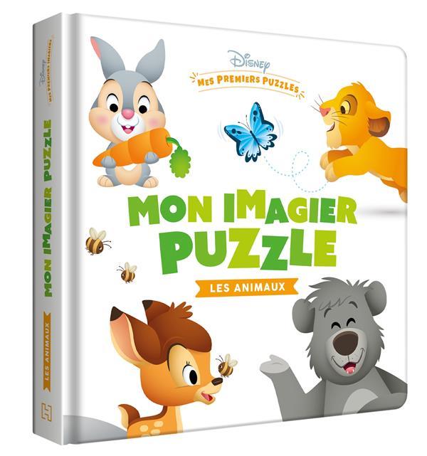 DISNEY BABY  -  MES PREMIERS PUZZLES  -  MON IMAGIER PUZZLE LES ANIMAUX XXX HACHETTE