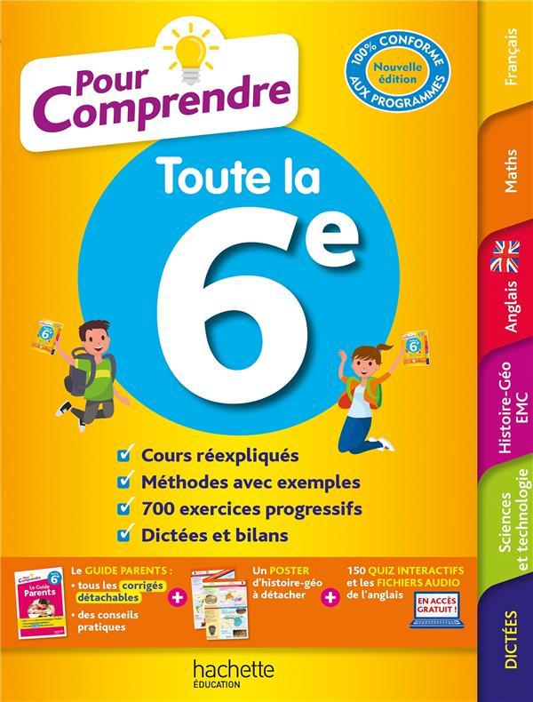 POUR COMPRENDRE TOUTES LES MATIERES  -  6E BLANC/MICHOUX/LISLE HACHETTE