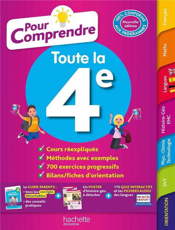 POUR COMPRENDRE TOUTES LES MATIERES  -  4E LISLE/OTTEVAERE/RIEU HACHETTE