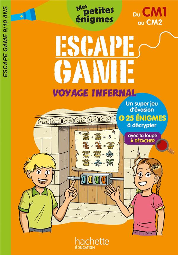 ESCAPE GAME  -  VOYAGE INFERNAL  -  DU CM1 AU CM2