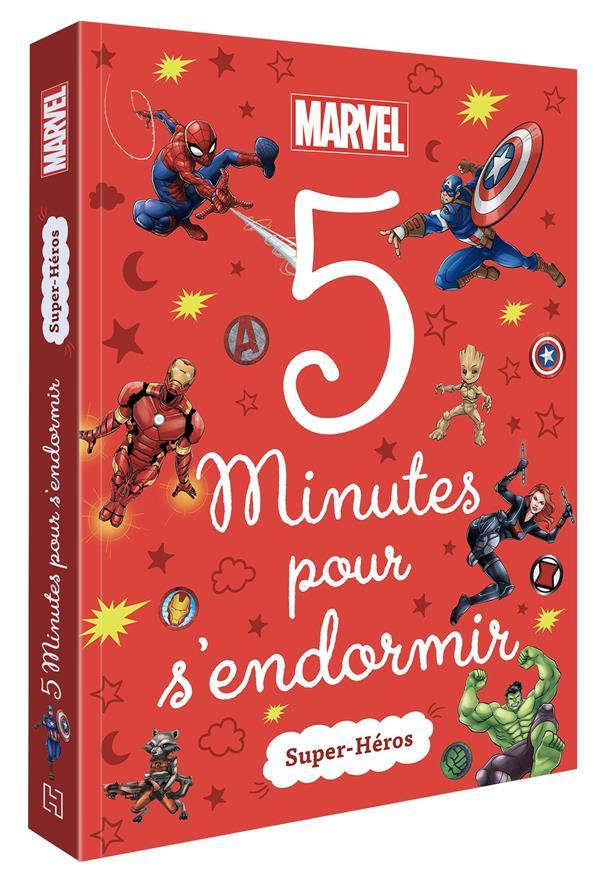 5 MINUTES POUR S'ENDORMIR  -  SUPER-HEROS XXX HACHETTE