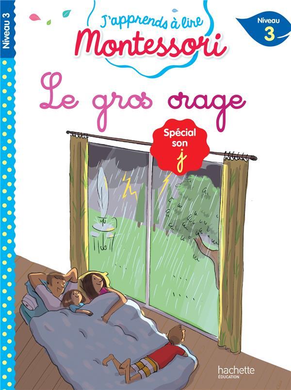 LE GROS ORAGE, NIVEAU 3 - J-AP LEROY-JOUENNE HACHETTE