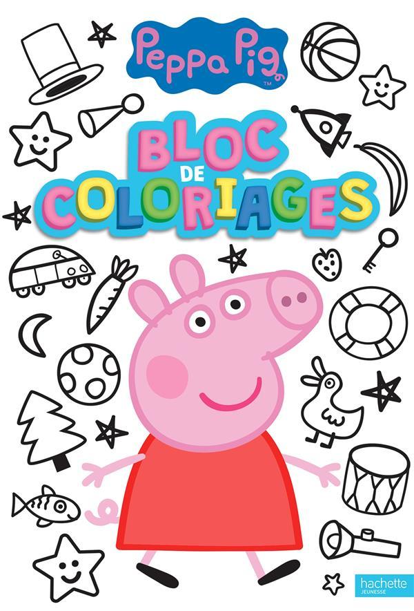 PEPPA PIG  -  BLOC DE COLORIAGES