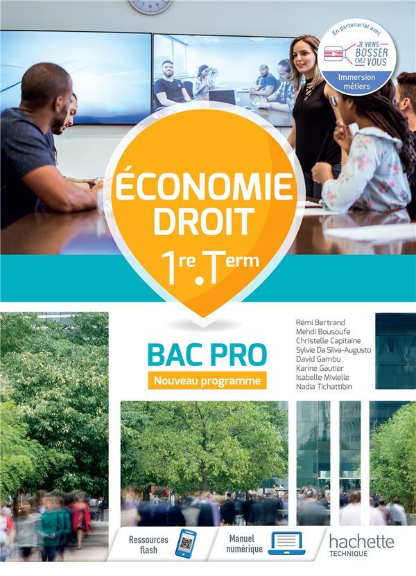 ECONOMIE-DROIT 1RE-TERM BAC PRO - CAHIER DE L-ELEVE - ED.2020