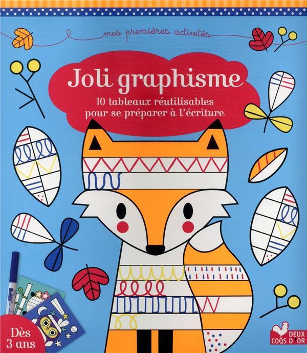 JOLI GRAPHISME  -  10 TABLEAUX REUTILISABLES POUR SE PREPARER A L'ECRITURE CHASSAGNOLE ESTELLE NC