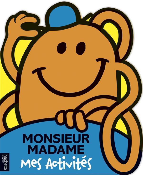LES MONSIEUR MADAME  -  MES ACTIVITES HARGREAVES, ROGER HACHETTE
