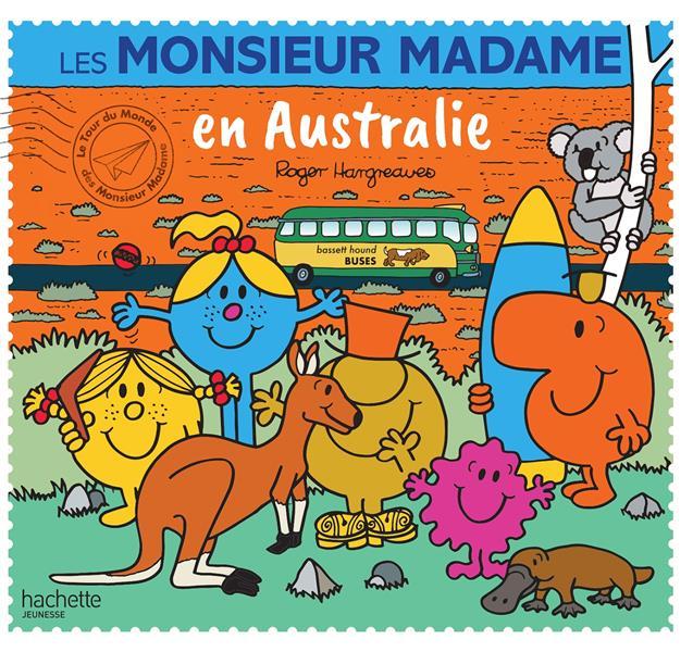 LES MONSIEUR MADAME EN AUSTRALIE HARGREAVES ADAM HACHETTE
