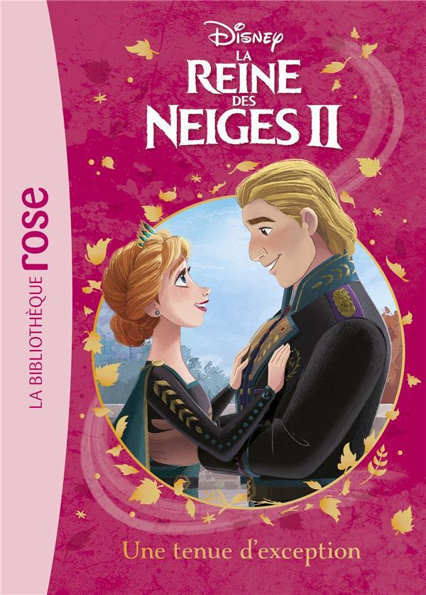 LA REINE DES NEIGES 2 T.12  -  UNE TENUE D'EXCEPTION DISNEY HACHETTE
