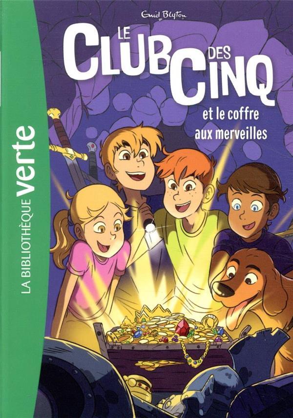 LE CLUB DES CINQ T.18  -  LE CLUB DES CINQ ET LE COFFRE AUX MERVEILLES