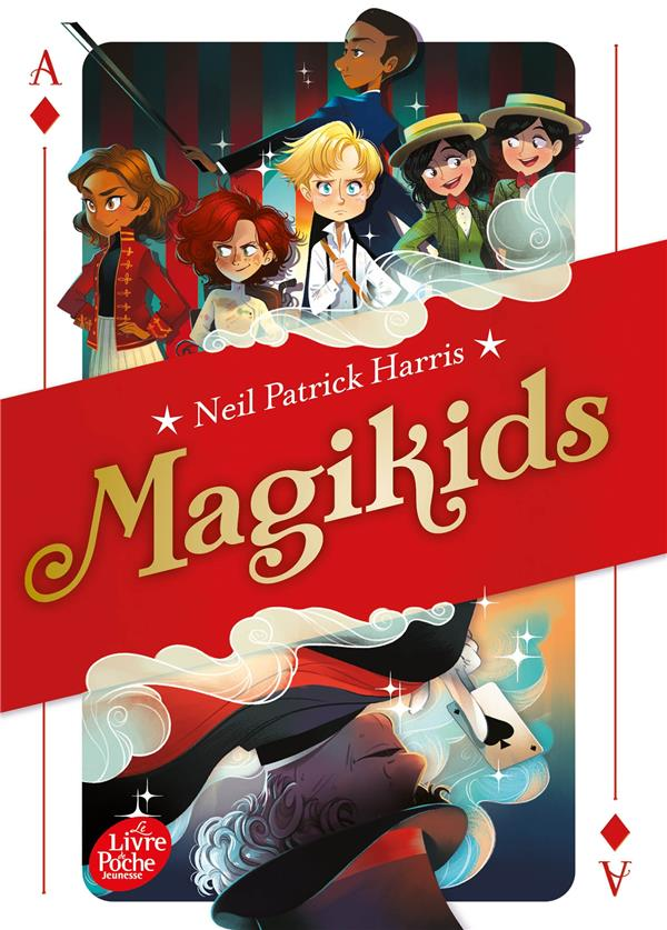 MAGIKIDS T.1 HARRIS, NEIL PATRICK HACHETTE