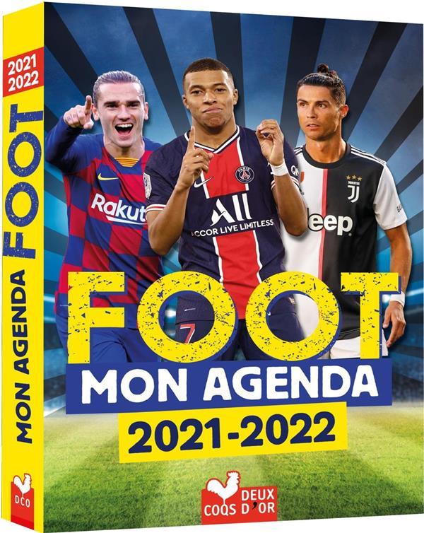 MON AGENDA FOOT (EDITION 20212022) XXX NC