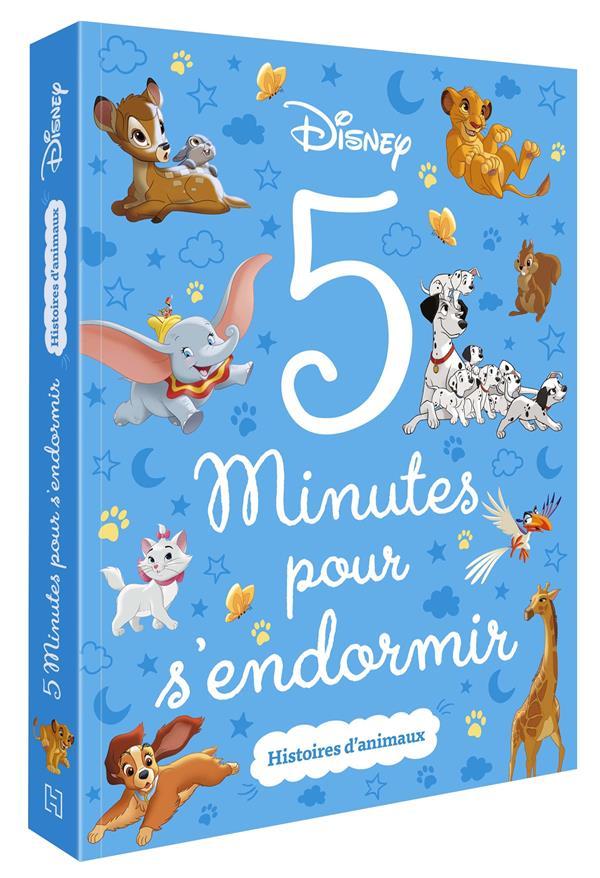 5 MINUTES POUR S'ENDORMIR  -  HISTOIRES D'ANIMAUX XXX HACHETTE