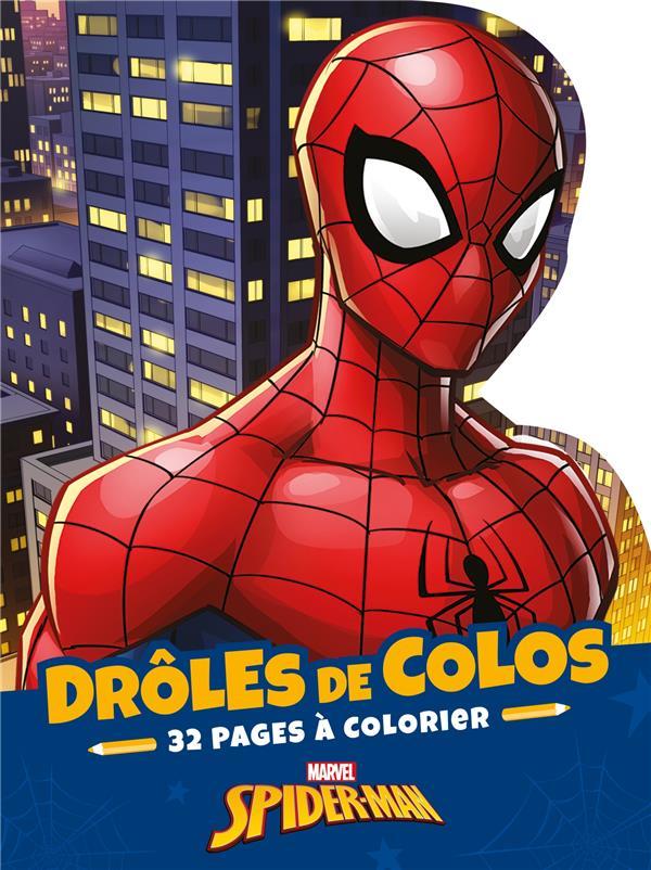 SPIDER-MAN  -  DROLES DE COLOS MARVEL HACHETTE