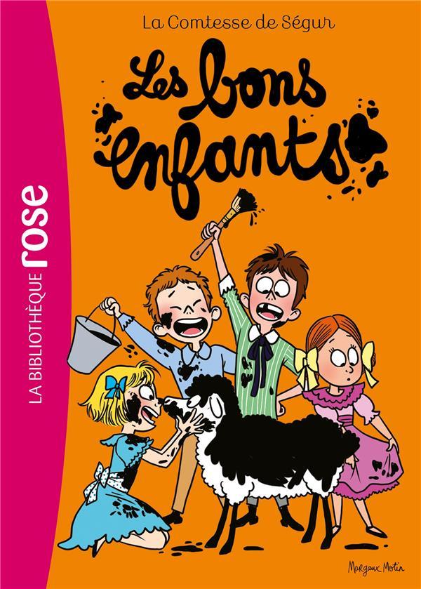 LA COMTESSE DE SEGUR - T06 - LA COMTESSE DE SEGUR 06 NED - LES BONS ENFANTS COMTESSE DE SEGUR HACHETTE