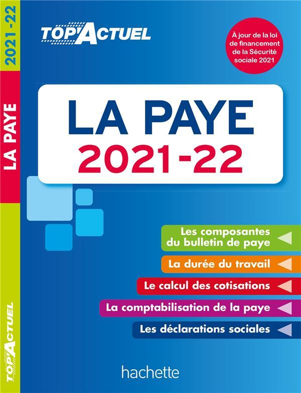 TOP'ACTUEL LA PAYE 2021-2022 LESTRADE, SABINE HACHETTE