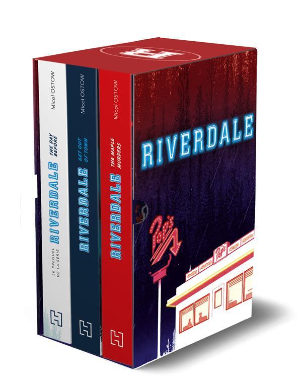 RIVERDALE  -  COFFRET  -  3 TOMES INEDITS + CARNET XXX HACHETTE
